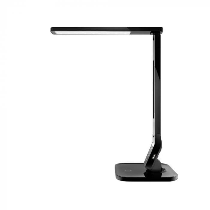 Lampa de birou LED TaoTronics, control Touch, 4 moduri de lumina, 14 W, USB 1