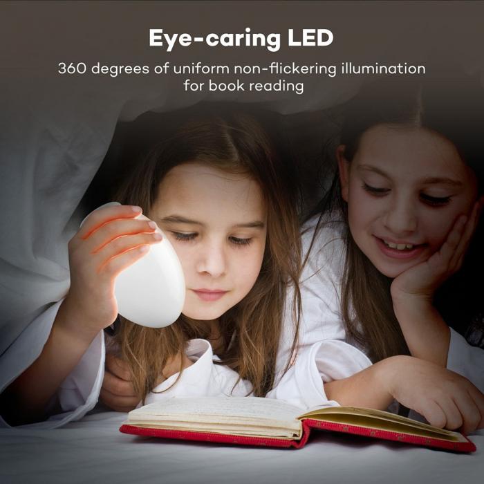 Lampa de Veghe Smart LED VAVA, lumina calda si rece, reglare Touch 3