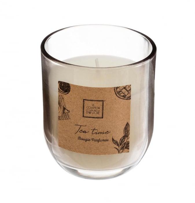 Lumanare parfumata TEA TIME, 135 gr 0