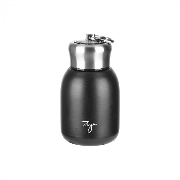 Mini Termos FASHION cu inel pentru transport, 200 ml 4