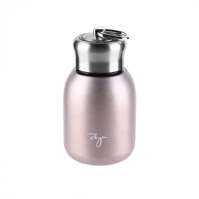 Mini Termos FASHION cu inel pentru transport, 200 ml 5