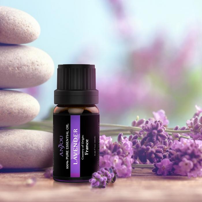 Pachet complet Aromaterapie, Difuzor cu ultrasunete si Set 6 uleiuri esentiale 9