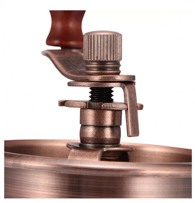 Rasnita manuala pentru Cafea cu sistem metalic pentru macinare, Maro 1