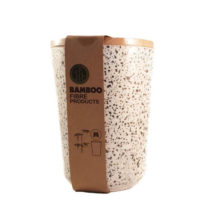 Set 3 recipiente pentru depozitare, din fibre de Bambus 1