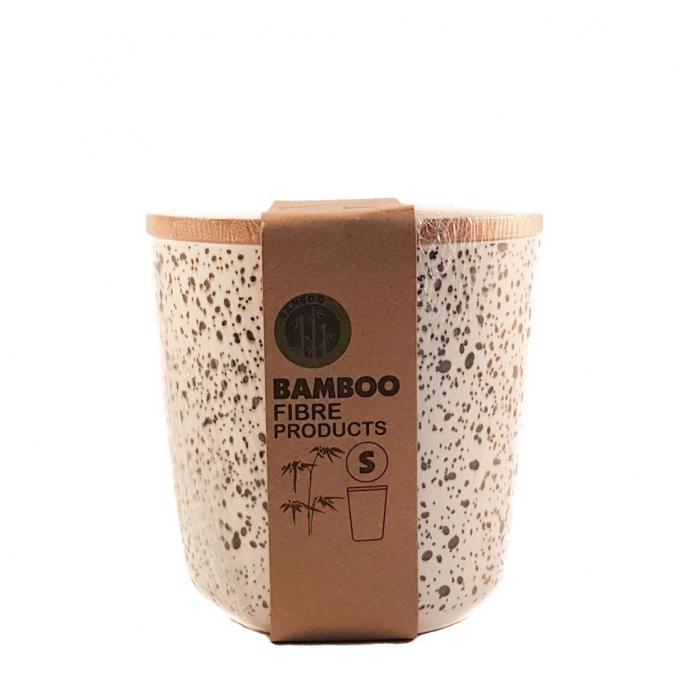 Set 3 recipiente pentru depozitare, din fibre de Bambus 3