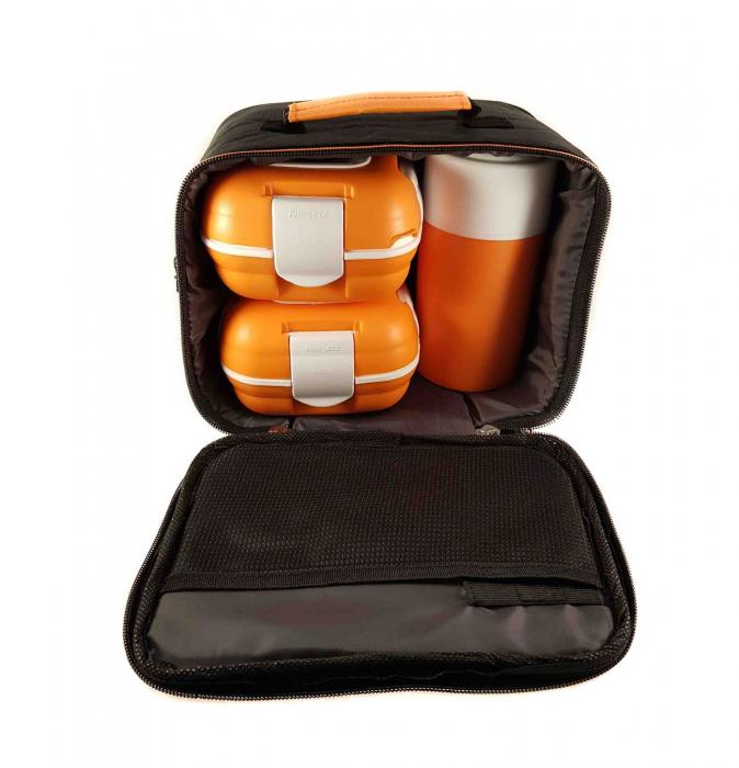 Set caserole Orange PALOMA pentru mancare, termoizolante 1