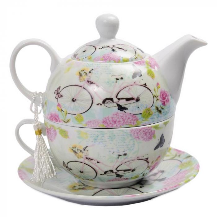 Set Ceai pentru 1 persoana, 3 piese, Holiday 0