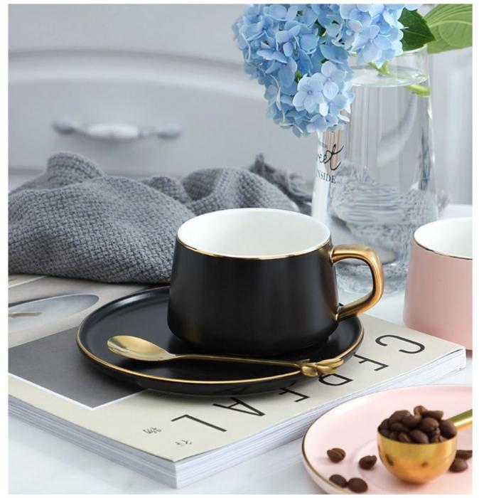 Set cafea Portelan, QUALITY LIFE [2]