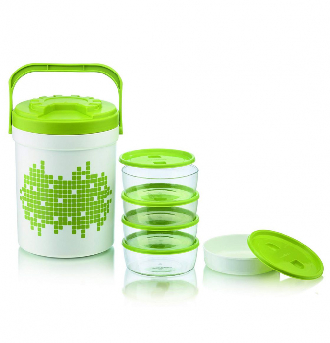Set PICNIC TREAT 6 Piese, Hot&Cold, Verde 1