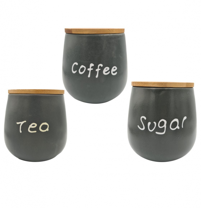 Set 3 recipiente SUGAR+TEA+COFFEE 0