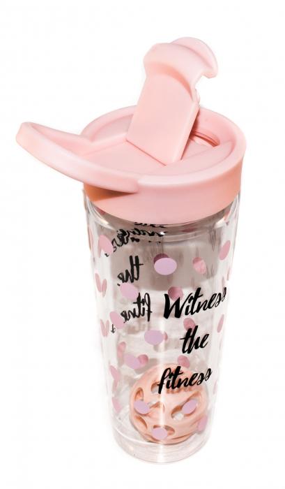 Sticla pentru apa si shake-uri proteice - Witness The Fitness 1