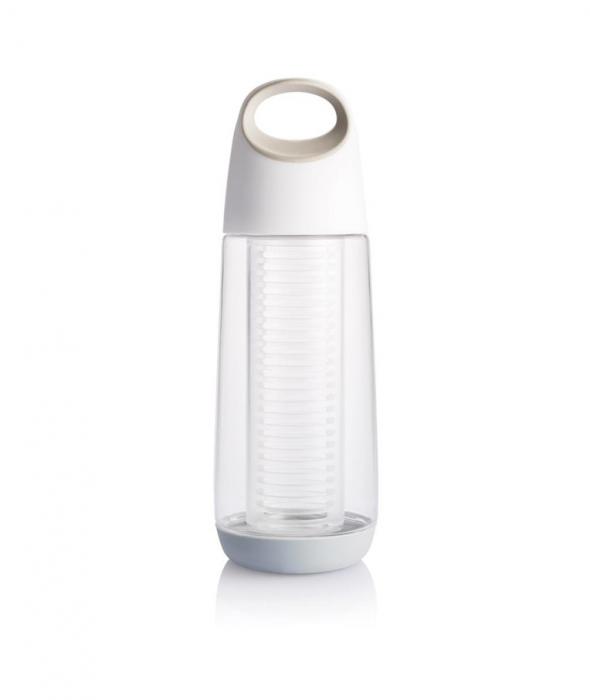 Sticla cu infuzor pentru fructe, Tritan, 650 ml, Bopp - Alba [4]