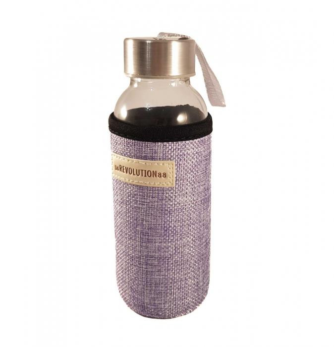 Sticla cu protectie Neopren,Mov, 300 ml 0