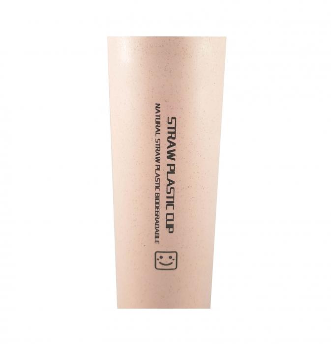 Sticla Termos ,protectie  Biodegradabila, Mov, 330 ml 3