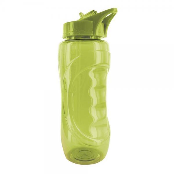 Sticla Sport din plastic cu pai, 900 ml 1