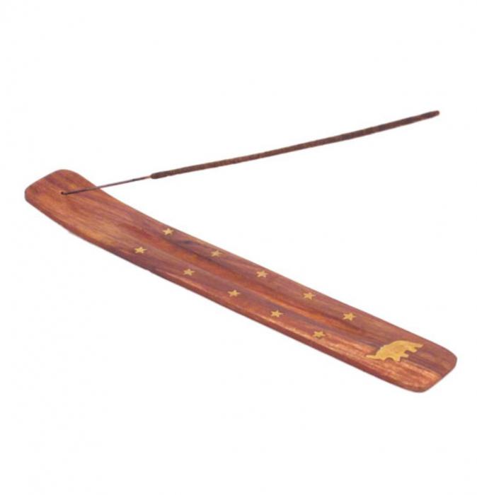 Suport din lemn pentru betisoare parfumate, Elefant [0]