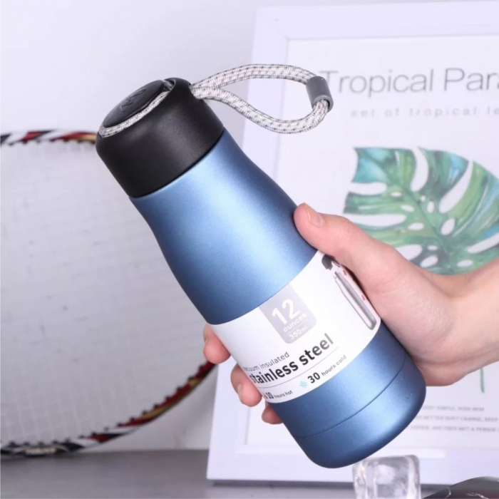 Termos Sport Bottle cu perete dublu din inox, 350 ml 0