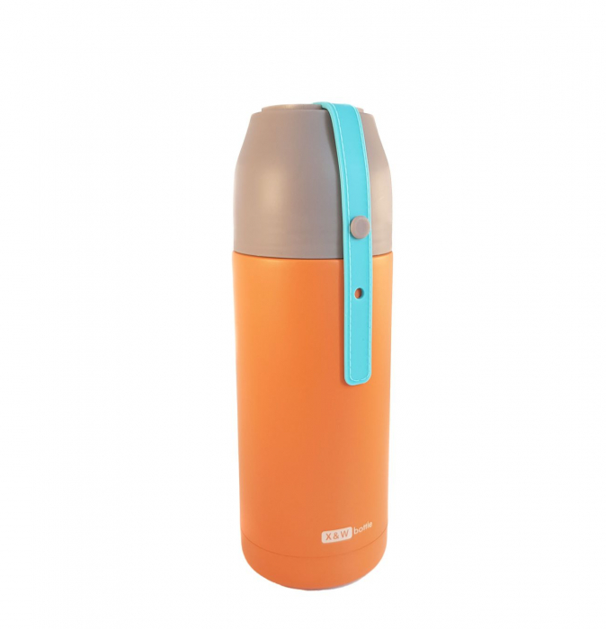 Termos din inox VOGUE Orange, 350 ml 1