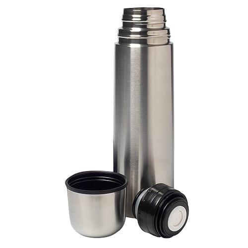 Termos din Inox capacitate 1 Litru, Argintiu [2]