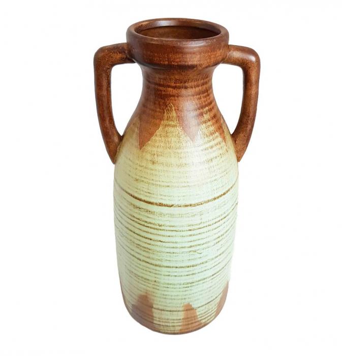 Vaza ceramica Amfora, Bleu, 38 cm 1