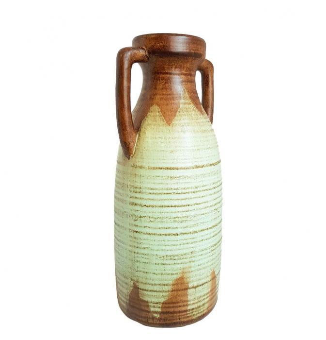 Vaza ceramica Amfora, Bleu, 38 cm 2