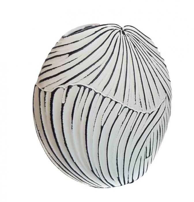 Vaza ceramica TERRA Ovala, 18 CM 1