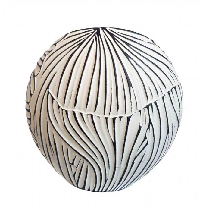Vaza ceramica TERRA Ovala, 18 CM 2