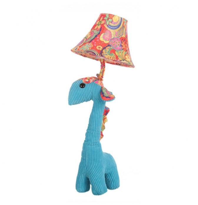 Veioza Copii in forma de Girafa, Albastru 0