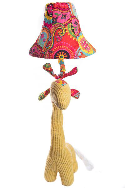 Veioza Girafa 3D din Plus, Galben 1