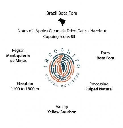 Cafea Boabe de specialitate Brazil Bota Fora 250g [1]