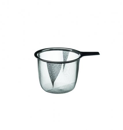 Cana cu infuzor pentru Ceai, 320 ml, Portelan, Negru2
