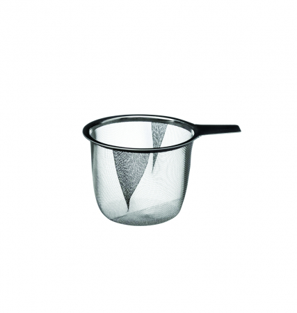 Cana cu infuzor pentru Ceai, 320 ml, Portelan, Gri [1]