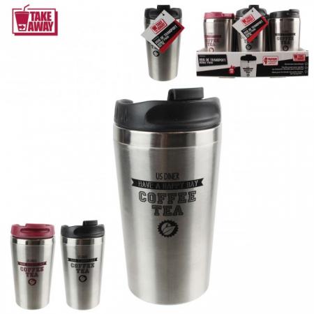 Cana Termos Coffee Tea, pereti dubli inox , 350 ml