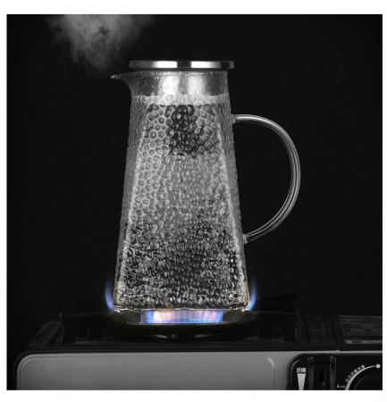 Carafa - Ceainic din sticla Borosilicata, 1,5 Litri4