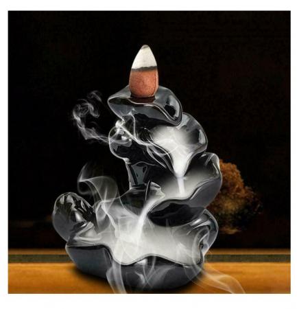 Conuri parfumate cu ardere inversa SANDALWOOD pentru suport cascada - 40 buc [1]