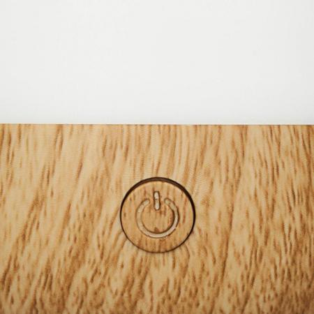 Difuzor Aromaterapie pentru Birou, WOOD, H 12.9 cm, 70 ml2