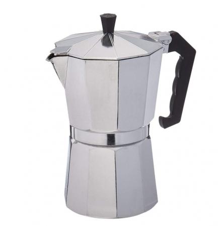 Espressor manual de cafea, 12 CUPS, Aluminiu0