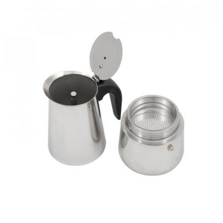 Espressor manual din Inox, 9 cupe, Grunberg2
