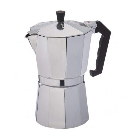 Espressor manual de cafea, 9 CUPS, Aluminiu [0]