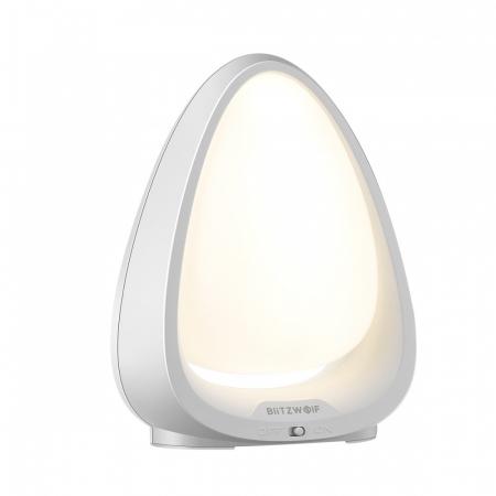Lampa de Veghe BlitzWolf, reglare touch a intensitatii, lumina in deferite culori0