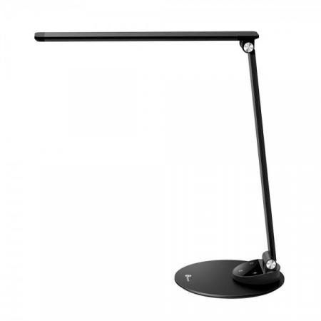 Lampa de birou LED TaoTronics, control Touch, 5 moduri de lumina, 9W, USB, Black1