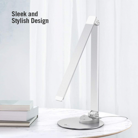 Lampa de birou LED TaoTronics, control Touch, 5 moduri de lumina, 9W, USB2