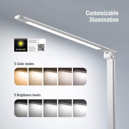 Lampa de birou LED TaoTronics, control Touch, 5 moduri de lumina, 9W, USB6