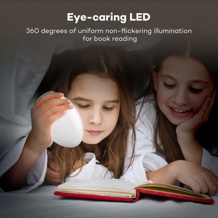 Lampa de Veghe Smart LED VAVA, lumina calda si rece, reglare Touch3