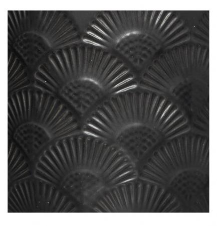 Lumanare parfumata FLOWER, cu pahar ceramic si capac, 190g, Negru1