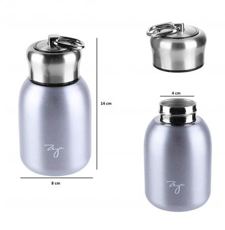 Mini Termos FASHION cu inel pentru transport, 200 ml2