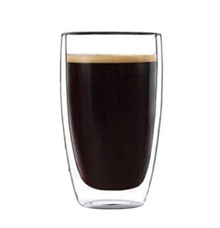 Pahar 370 ml din sticla Borosilicata cu pereti dubli [0]