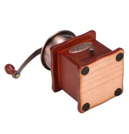 Rasnita manuala pentru Cafea cu sistem metalic pentru macinare, Maro4