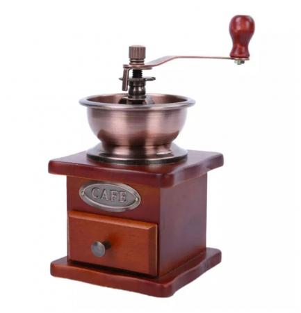Rasnita manuala pentru Cafea cu sistem metalic pentru macinare, Maro0