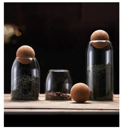 Set 3 recipiente din sticla borosilicata, SPHERE [6]